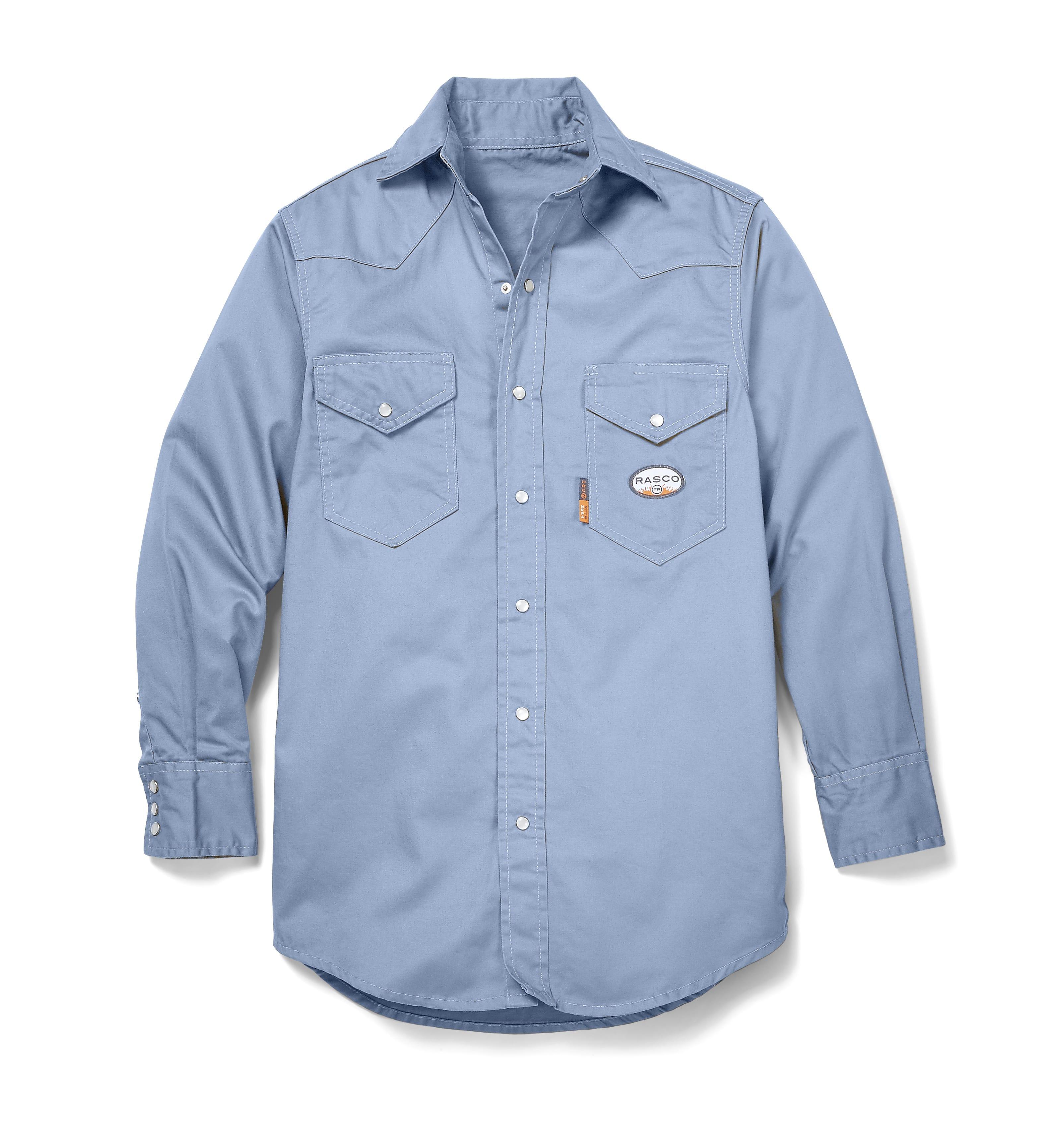 8c2b2b172fc3 Men s Lightweight Rasco FR Work Shirt