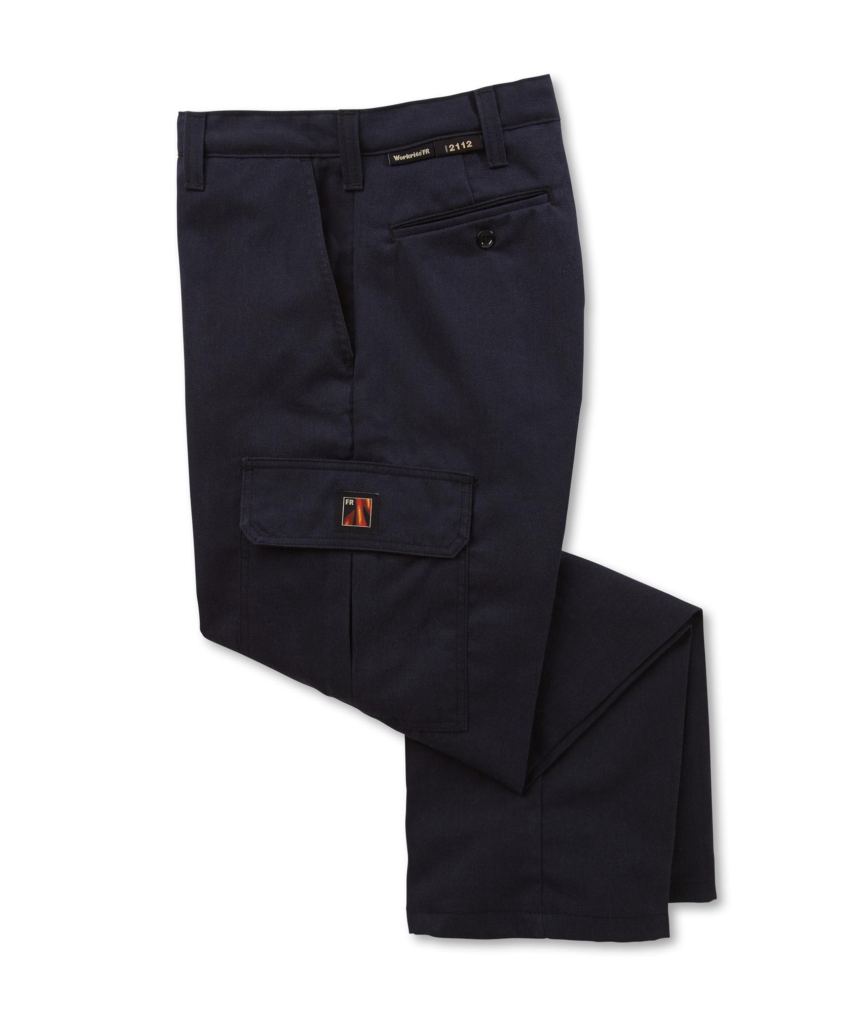 Workrite Fr Men S Navy Work Pants Ultrasoft 431ut95