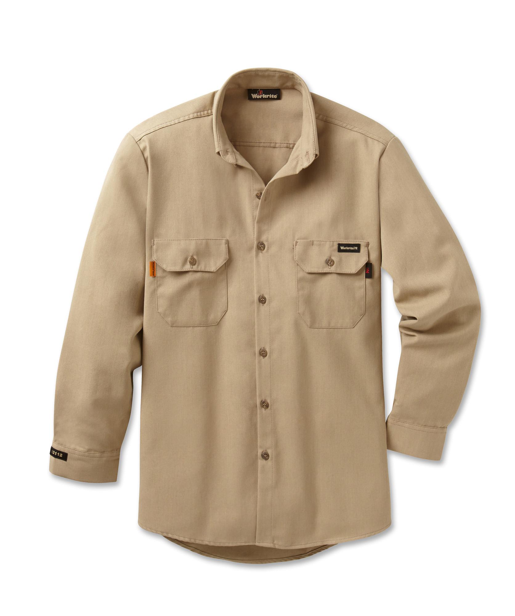 7c11fa42f803 Workrite FR Men s Work Shirt