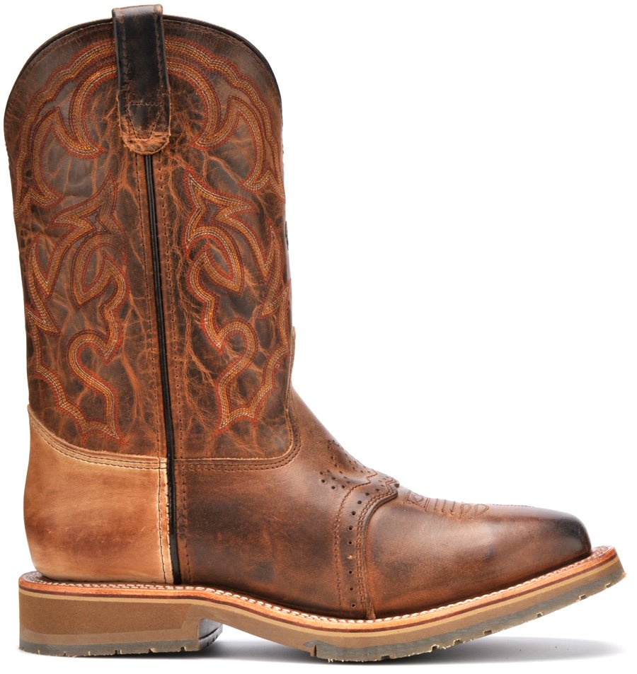 Double H Steel Toe Western Roper Boots Dh3567