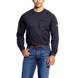 Ariat FR Air Crew T-Shirt - Black tee, frc, flame, resistant, retardant