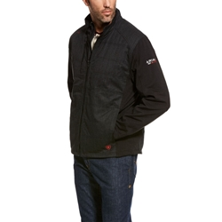 Ariat FR Cloud 9 Insulated Jacket in Black flame, resistant, retardant, frc