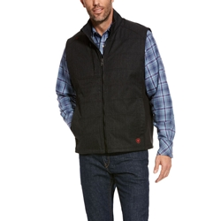 Ariat FR Cloud 9 Insulated Vest in Black flame, resistant, retardant, frc
