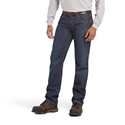 Ariat FR M3 Loose Basic Straight Leg Jean - Shale Wash - 10014450