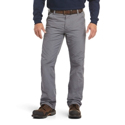 Ariat FR M4 Relaxed Duralight Ripstop Bootcut Pant - Gray flame, resistant, retardant, work, frc, grey, iron, charcoal