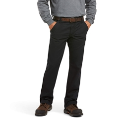 Ariat FR M4 Relaxed Workhorse Bootcut Pant - Black flame, resistant, retardant, work