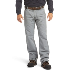 Ariat FR M4 Relaxed Workhorse Bootcut Pant - Medium Gray flame, resistant, retardant, work, grey, charcoal, frc