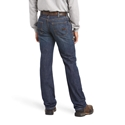 Ariat FR M5 Slim Basic Straight Leg Jean - Shale Wash - 10015166