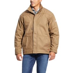 Ariat FR Workhorse Insulated Jacket - Field Khaki flame, resistant, retardant, frc