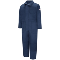 Bulwark Excel FR Premium Insulated Coverall - Navy flame, resistant, retardant, arc, flash, fires, ppe lightweight, insulation