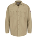 Bulwark FR Button-Front Work Shirt - SEW2