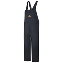 Bulwark FR Duck Unlined Bib Overall - Navy - BLF8NV