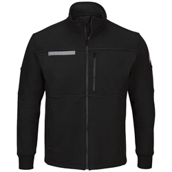 Bulwark FR Full Zip Fleece Jacket - Black flame, resistant, retardant, frc, arc, flash, fire