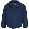 Bulwark FR Heavyweight Insulated Bomber Jacket - Navy - JLR8NV