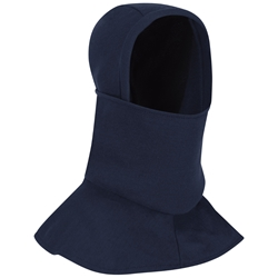 Bulwark FR Knit Balaclava with Face Mask - Navy flame, resistant, retardant, ppe, arc, flash, fire