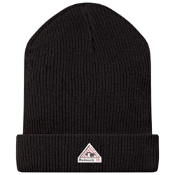 Bulwark FR Knit Cap - Black flame, resistant, retardant, fire, arc, flash, hat, beanie, skull