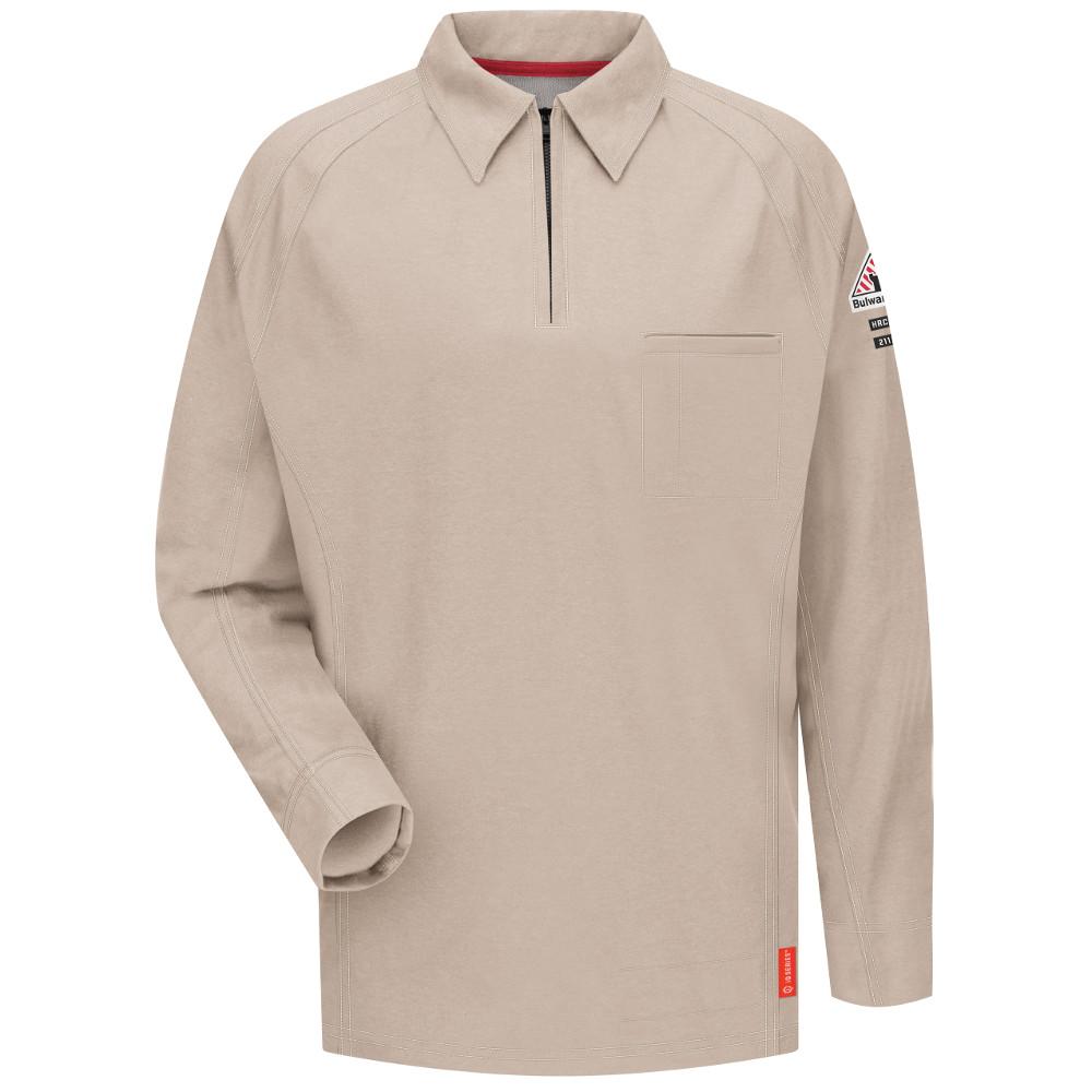 Bulwark iQ FR Long Sleeve Polo Shirt | Flame Resistant