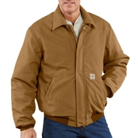 Carhartt FR Brown Duck Bomber Jacket
