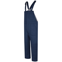 Bulwark FR Deluxe Insulated Bib Overall - Navy flame,resistant,retardant,frc,fire,arc,flash,warm,weather,insulated