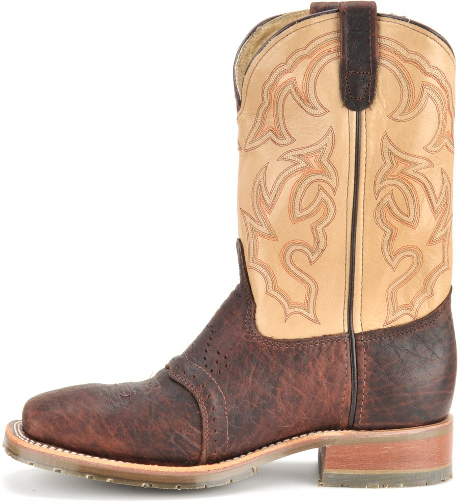 Double H Men's Square Steel Toe Roper Boots | DH5305