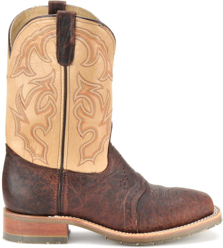 Double H Men S Square Steel Toe Roper Boots Dh5305