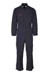 Lapco 6.5 oz. DH FR Deluxe 2.0 Coverall - Navy flame, resistant, retardant, contractor, welder