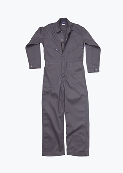 Lapco 7 oz. FR Deluxe Contractor Coverall - Gray