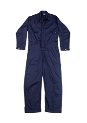 Lapco 7 oz. FR Deluxe Contractor Coverall - Navy