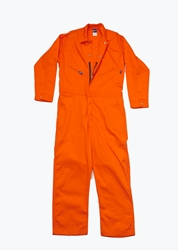 Lapco 7 oz. FR Deluxe Contractor Coverall - Orange