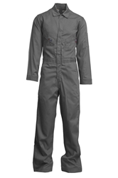 Lapco 7 oz. FR Deluxe Coverall - Gray flame, resistant, retardant, contractor, grey, welder