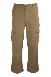 Lapco FR 6.5 oz. DH Cargo Pant - Khaki flame, resistant, retardant, work, uniform, pants, pocket, side, westex, tan, utility