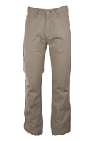 Lapco FR 8.5 oz. Canvas Pant - Khaki flame, resistant, retardant, work, uniform, pants, westex, ultra soft, utility