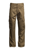 Lapco FR 9 oz. Cargo Pant - Khaki flame, resistant, retardant, work, uniform, pants, pocket, side, tan, utility