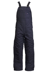 Lapco FR 9 oz. Insulated Bib Overalls - Navy flame, resistant, retardant, over, all