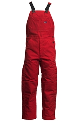 Lapco FR 9 oz. Insulated Bib Overalls - Red flame, resistant, retardant, over, all