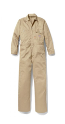 Rasco FR Ultrasoft Contractor Coverall - Khaki flame, resistant, retardant, mens, mens, westex, ultra, soft, tan, beige, brown