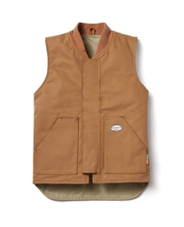 Rasco FR Work Vest - Brown Duck flame, resistant, retardant