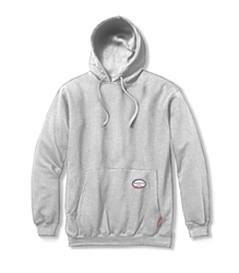 Rasco Flame Resistant 10 oz. Pullover Hoodie - Gray flame, resistant, retardant, sweatshirt, hooded, grey