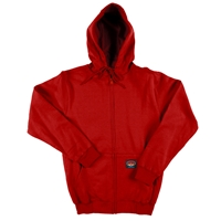 Rasco Flame Resistant 10 oz Red Hooded Sweatshirt