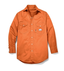 Rasco Flame Resistant Lightweight Work Shirt - Orange