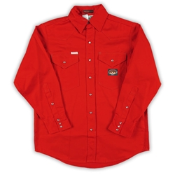 Rasco Flame Resistant Lightweight Work Shirt - Red