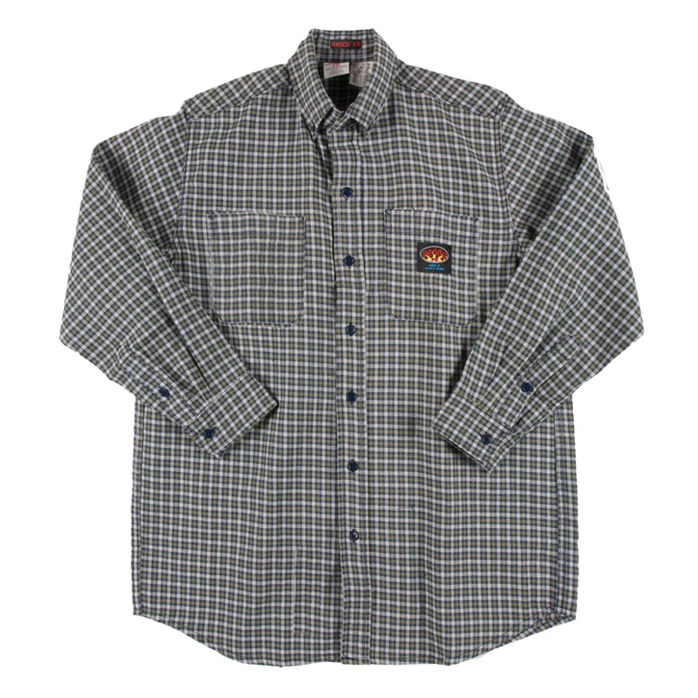 Plaid lightweight men 39 s fr rasco shirt plg755 for Design a work shirt