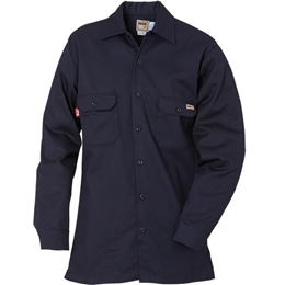 Reed Navy FR 88/12 Cotton Blend Shirt