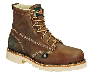 "Thorogood American Heritage 6"" Plain Toe - Safety Toe"
