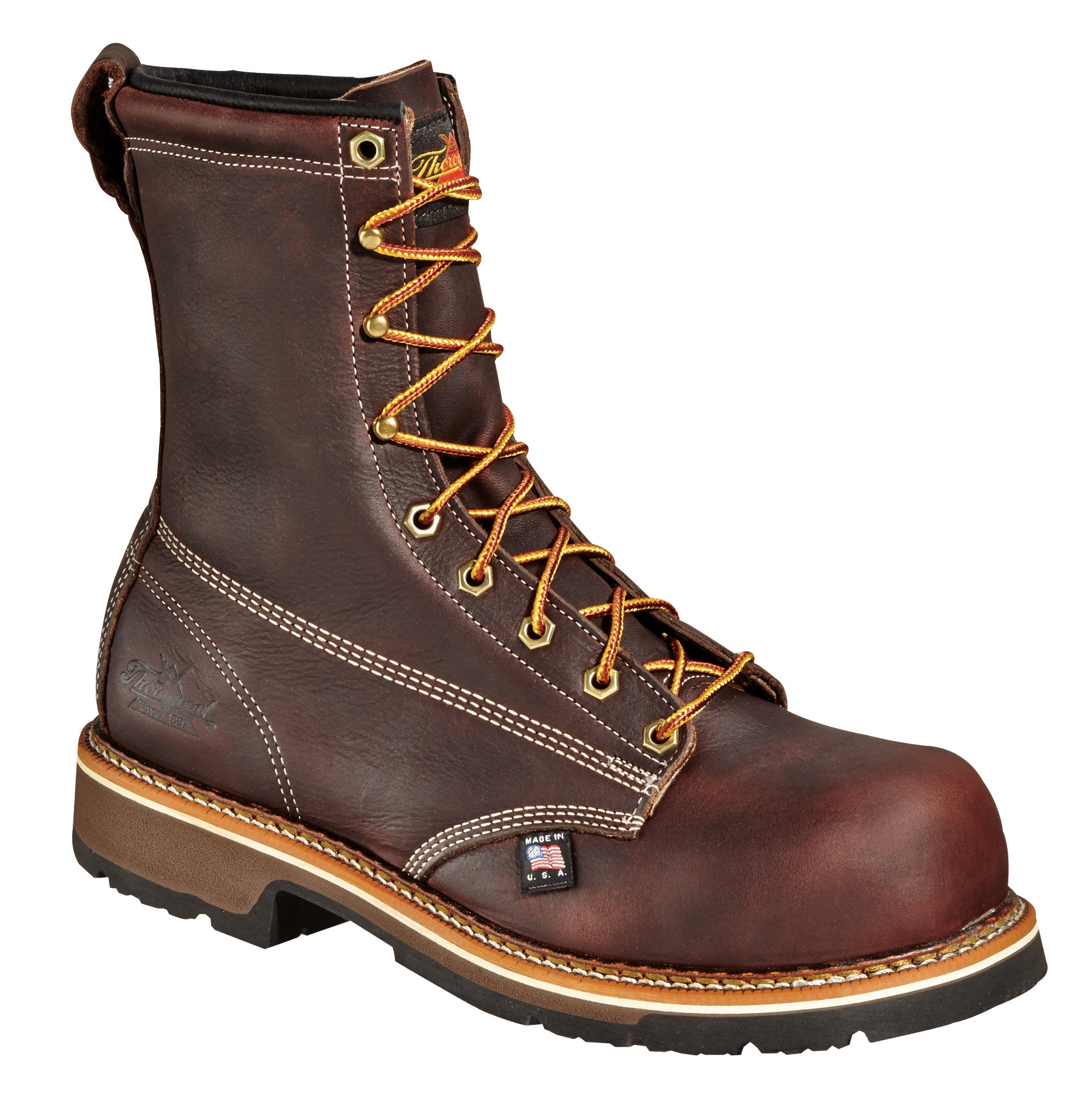 """Thorogood American Heritage 8"""" Composite Emperor Toe Boot [804-4368] Made In USA"""