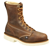 "Thorogood American Heritage 8"" Plain Toe - Safety Toe"
