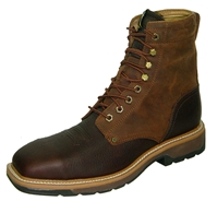 Twisted X Lite Weight Cowboy Work Lace-Up - Steel Toe