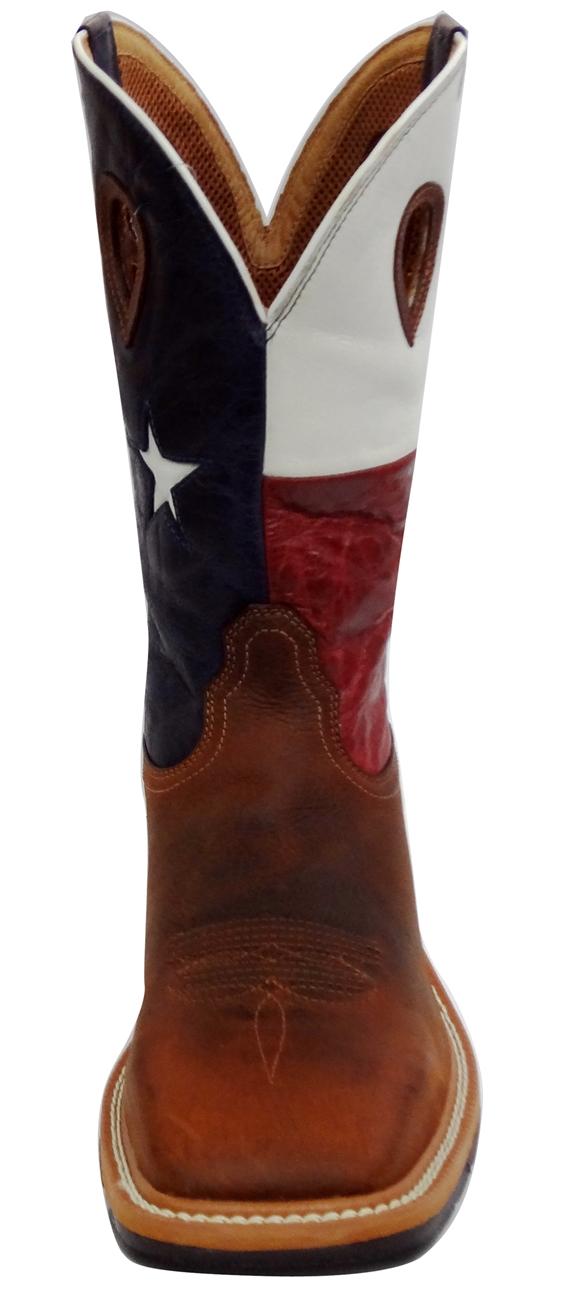 f1143d4f1ed Twisted X Lite Weight Texas Flag Cowboy Work Pull-On - Steel Toe