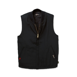 Workrite 7 oz Ultrasoft Black Insulated Vest/Liner