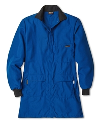 Workrite 4.5 oz Nomex IIIA Flame Resistant and Chemical Protection Royal Blue Lab Coat